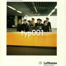 LUFTHANSA - 1979 - THE CREW ON MY FLIGHT SMILED ALL THE WAY TO NEW YORK PRINT AD