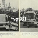 MERCEDES BENZ - 1979 MERCEDES BUSSES THE SOUND INVESTMENT PRINT AD