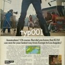 KLM - 1979 - FASTEST WAY FROM EUROPE TO L.A. PRINT AD