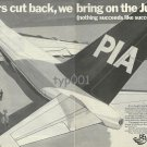 PIA PAKISTAN INTERNATIONAL AIRWAYS - 1976 - WE BRING ON THE JUMBOS PRINT AD