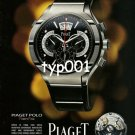 PIAGET - 2009 - PIAGET POLO 45 WATCH FRENCH PRINT AD