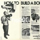 BOEING 1980 - HOW TO BUILD A BOEING PRINT AD - 01 - BOEING 767