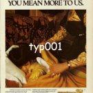 SAUDIA SAUDI ARABIAN AIRLINES - 1980 YOU MEAN MORE TO US PRINT AD