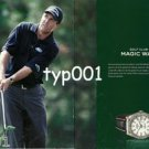 ROLEX - 2006 - GOLF CLUB OR MAGIC WAND - PHIL MICKELSON PRINT AD