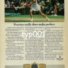 ROLEX - 1985- CHRIS EVERT LLOYD TENNIS CHAMPION PRINT AD