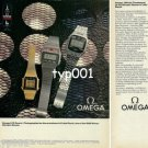 OMEGA - 1980 OFFICIAL TIMEKEEPER OF MOSCOW  & LAKE PLACID OLYMPICS PRINT AD - 2