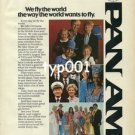PAN AM - 1979 - WE FLY THE WORLD THE WAY THE WORLD WANTS TO FLY PRINT AD - 2