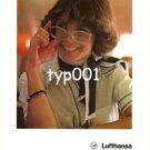 LUFTHANSA - 1980 - LUFTHANSA SPEAKS WELL FOR GERMANY PRINT AD