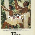 GARUDA INDONESIAN AIRLINES - 1980 - THRILL PRINT AD