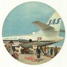 "SAS 1959 CARAVELLE SAMBA - CARDBOARD RECORD 7"""