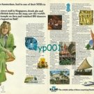 KLM - 1973 - I FLEW KLM TO AMSTERDAM AND IN THEIR 747BS TO FAR EAST PRINT AD