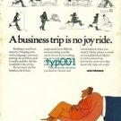AIR FRANCE - 1973 - A BUSINESS TRIP IS NO JOY RIDE PRINT AD - BLACHON