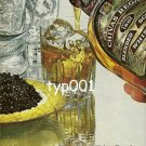 CHIVAS REGAL - 1979 HOW WELL CAN YOU LIVE WITHOUT CHIVAS AND CAVIAR PRINT AD