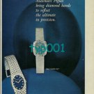 AUDEMARS PIGUET - 1973 - TIME ENRICHED PRINT AD