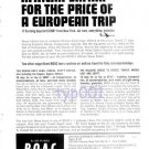 BOAC - 1964 - AFRICAN SAFARI FOR PRICE OF EUROPEAN TRIP - PRINT AD