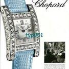 CHOPARD - 2001 - CHOPARD WATCHES PRINT AD