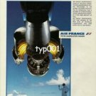 AIR FRANCE - 1984 - HIGH STANDARDS PRINT AD