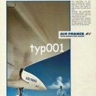 AIR FRANCE - 1984 - HIGH TECHNOLOGY CONCORDE PRINT AD