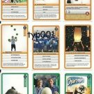 GUINESS WORLD RECORDS - 2012 TURKISH TRADING CARDS SET 3 - 19-27