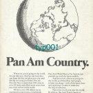 PAN AM - 1974 - PAN AM COUNTRY PRINT AD