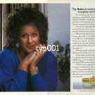 ROLEX - 1990 - IT MAKES ME FEEL DRESSED - KIRI TE KANAWA PRINT AD