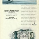 ROLEX - 1998 -  -40° C NOTHING BUT ICE 20 KM TO GO BEFORE DARK PRINT AD