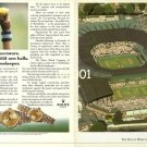 ROLEX - 1990 - OFFICIAL TIMEKEEPER AT WIMBLEDON TENNIS TOURNAMENT PRINT AD