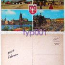 PAN AM - 1969 BOEING 707 FOUND THE FRANKFURT AIRPORT POSTCARD
