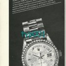 TIME MAG - ROLEX - 1974 -  TIME IS A PART OF ROLEX'S BUSINESS PRINT AD