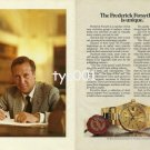 ROLEX - 1984 - THE FREDERICK FORSYTH STYLE IS UNIQUE PRINT AD