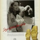OMEGA - 1990 - SIGNIFICANT MOMENTS - MAESTRO TALKING ABOUT BROADWAY PRINT AD