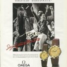 OMEGA - 1990 - SIGNIFICANT MOMENTS - BUENOS AIRES POLO CLUB PRINT AD