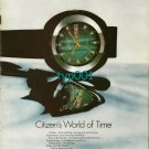 CITIZEN - 1974 - CITIZEN'S WORLD OF TIME PRINT AD