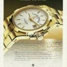 VACHERON CONSTANTIN - 1997 -  OVERSEAS TIME SET FREE PRINT AD
