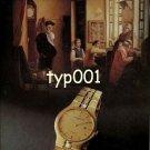 VACHERON CONSTANTIN - 1990 -  PRINT AD - 1
