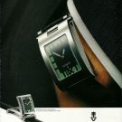 CORUM - 1998 - TABOGAN WATCH ON YOUR WRIST OR BUREAU PRINT AD