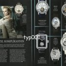 AUDEMARS PIGUET JAEGER CARTIER CHANEL BREGUET 2013 - COMPLICATION ADVERTORIAL