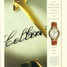 ROLEX - 1998 - 5 CENTURY AGO MEN OWNED CELLINI ARTWORK THEY STILL CAN PRINT AD