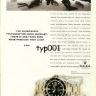 ROLEX - 1998 - DAVID DOUBILET UNDERWATER PHOTOGRAPHER PRINT AD