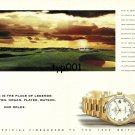 ROLEX - 1999 - GOLF BRITISH OPEN TOURNAMENT PRINT AD