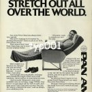 PAN AM - 1980 - NOW YOU CAN STRETCH OUT ALL OVER THE WORLD PRINT AD