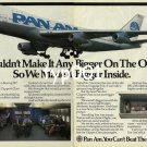 PAN AM - 1985 - WE COULDN'T MAKE IT ANY BIGGER ON THE OUTSIDE PRINT AD