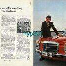 MERCEDES BENZ - 1973 THERE ARE STILL THINGS YOU CAN TRUST PRINT AD