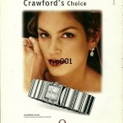 OMEGA - 2000 - CINDY CRAWFORD'S CHOICE PRINT AD - 01