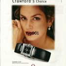 OMEGA - 2000 - CINDY CRAWFORD'S CHOICE PRINT AD - 02