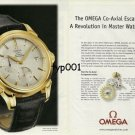 OMEGA - 2001 - COAXIAL ESCAPEMENT A REVOLUTION IN MASTER WATCHMAKING PRINT AD -1