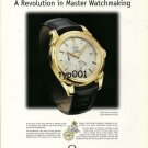 OMEGA - 2001 - COAXIAL ESCAPEMENT A REVOLUTION IN MASTER WATCHMAKING PRINT AD -2