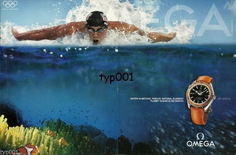 Omega Planet Ocean Michael Phelps