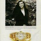 ROLEX - 2001 - ITALIAN OPERA SINGER CECILIA BARTOLI PRINT AD