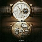 JAEGER LECOULTRE - 2007 - MASTER TOURBILLON WATCH PRINT AD